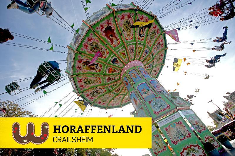 Bild vom Kettenkarusell auf dem Crailsheimer Volksfest