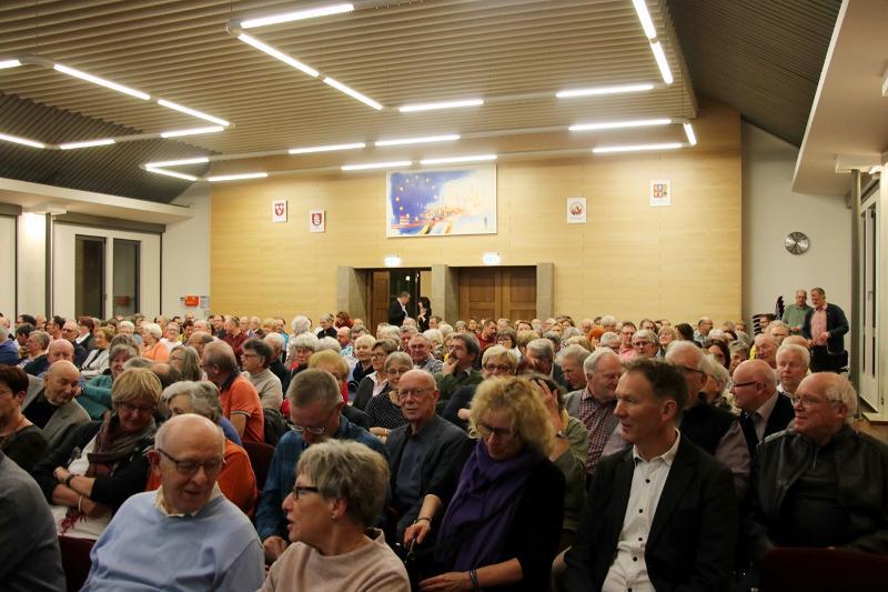 Das Publikum des Heimatgeschichtlichen Abends 2020